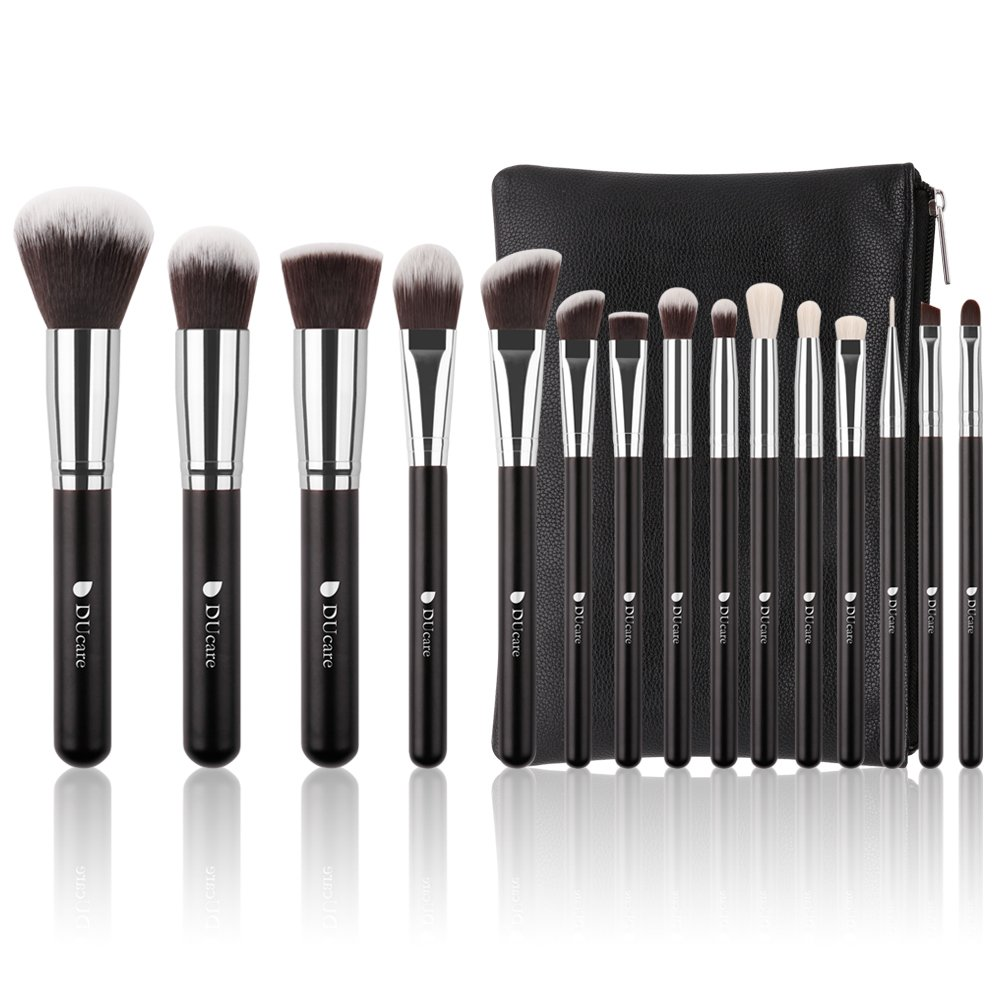 Ducare Makeup Brushes 15 Piece