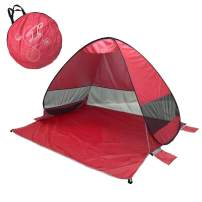 Lightahead Backpacking-Tents lightahead Automatic pop up uv Resistant 'uv50 ' Sun Shade Portable Camping Tent picnicing Fishing Hiking Canopy Easy Setup Outdoor Cabana Tents with Carry Bag