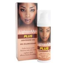 LightenUp PLUS Lightening Gel With Pump 30ml -Formulated to Fade Brown Spots, Skin Lightening Properties, with Coconut Oil