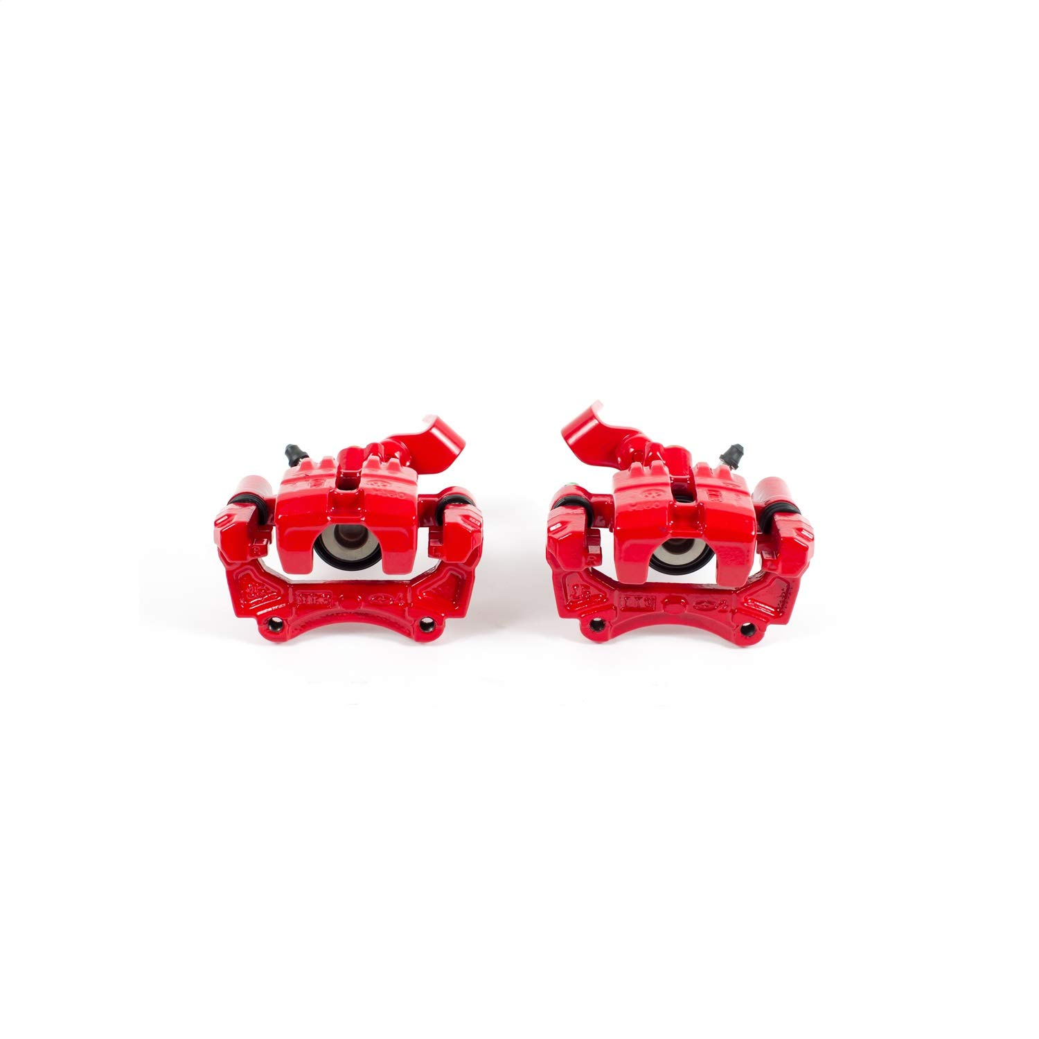 Power Stop S2738 Red Powder-Coated Performance Caliper