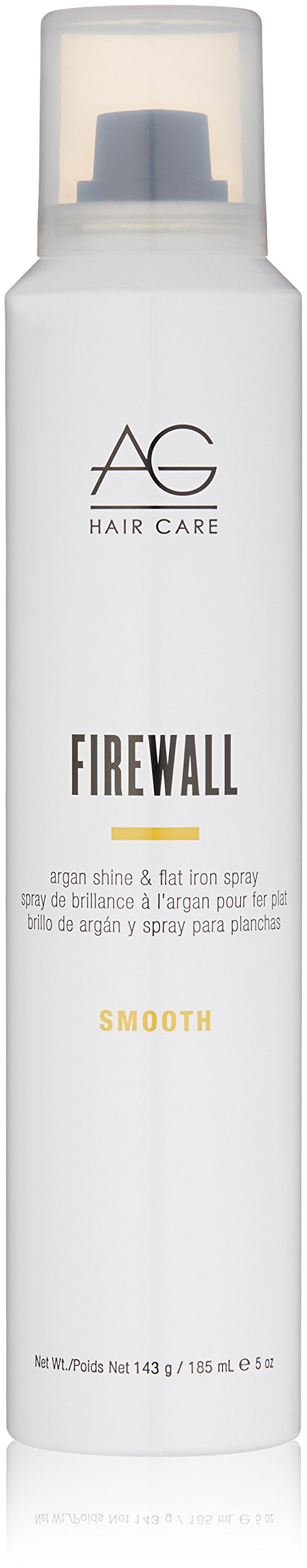 Ag Hair Smooth Firewall Argan Shine Flat Iron Spray 5 Oz