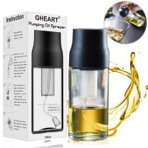 Olive Oil Sprayer Mister Oil Sprayer Bottle for Cooking, BBQ, Salad, Baking, Roasting, Grilling, Frying, BPA-Free, Glass, 150ml