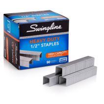"Swingline Staples, Heavy Duty, 1/2"" Length, 90 Sheet Capacity, 100/Strip, 5000/Box, 1 Pack (79392)"