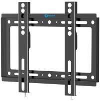 Pipishell Low Profile Fixed TV Wall Mount Bracket, Ultra Slim for Most 17-42 inch LED, LCD OLED and Plasma Flat Curved Screen TVs and Save Space, Max VESA 200x200mm up to 66 lbs