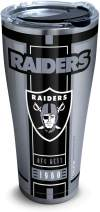 Tervis Las Vegas Raiders Stainless Steel Insulated Tumbler with Clear and Black Hammer Lid, 30 oz, Silver