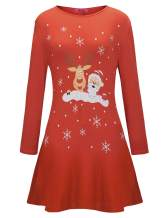 Ruiyige Womens Xmas Tunic Dress Dresses,#1260 Red Medium…