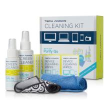 Tech Armor 120 ML Pro Cleaning Kit with ExtraMove Formula and Cleansing Wipes