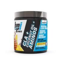 BPI Health CLA + Coconut Oil + Aminos, Non Stimulant Fat Loss Supplement Powder, Tropical Breeze, 40 Servings,11.28oz