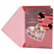 Hallmark Valentine's Day Card (Love Makes Everything Sweeter)