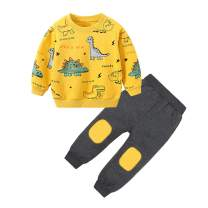 Toddler Boy Clothes (1-6T) Infant Baby Boy Sweatshirt Outfits Tops Pants Set
