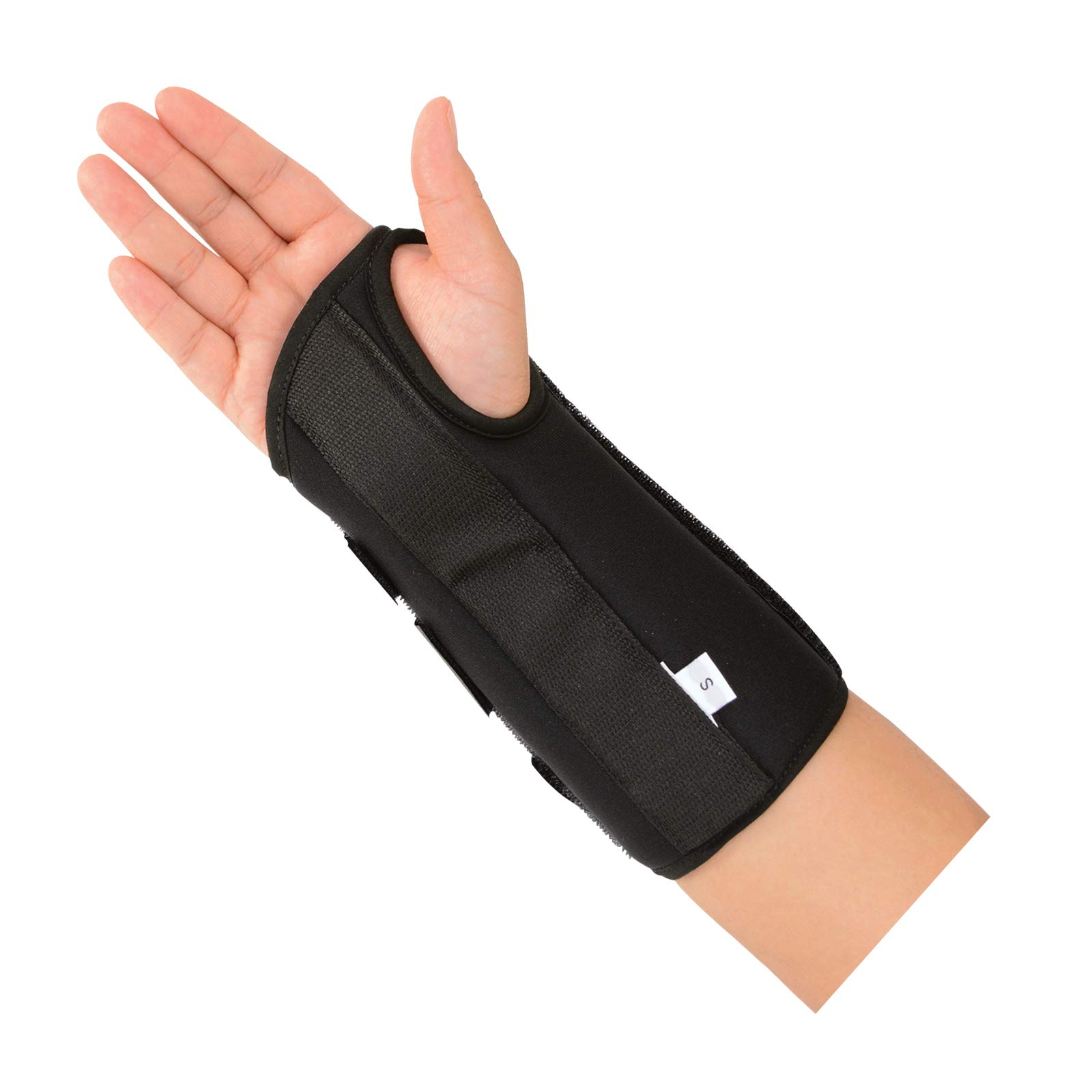 """Sammons Preston 8"""" R-Soft Wrist Support, Right, Extra-Large, Stabilization Splint and Immobilizer for Healing and Recovery of the Hand, Arm, and Wrist, Open Hand Mobility Design for Range of Motion"""