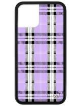 Wildflower Limited Edition Cases for iPhone 11 Pro (Lavender Plaid)