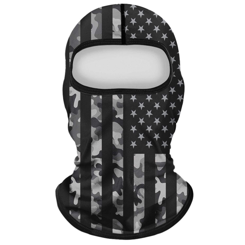 Unisex Seamless Bandana Neck Gaiter Tube Headwear Motorcycle Face Cover Scarf