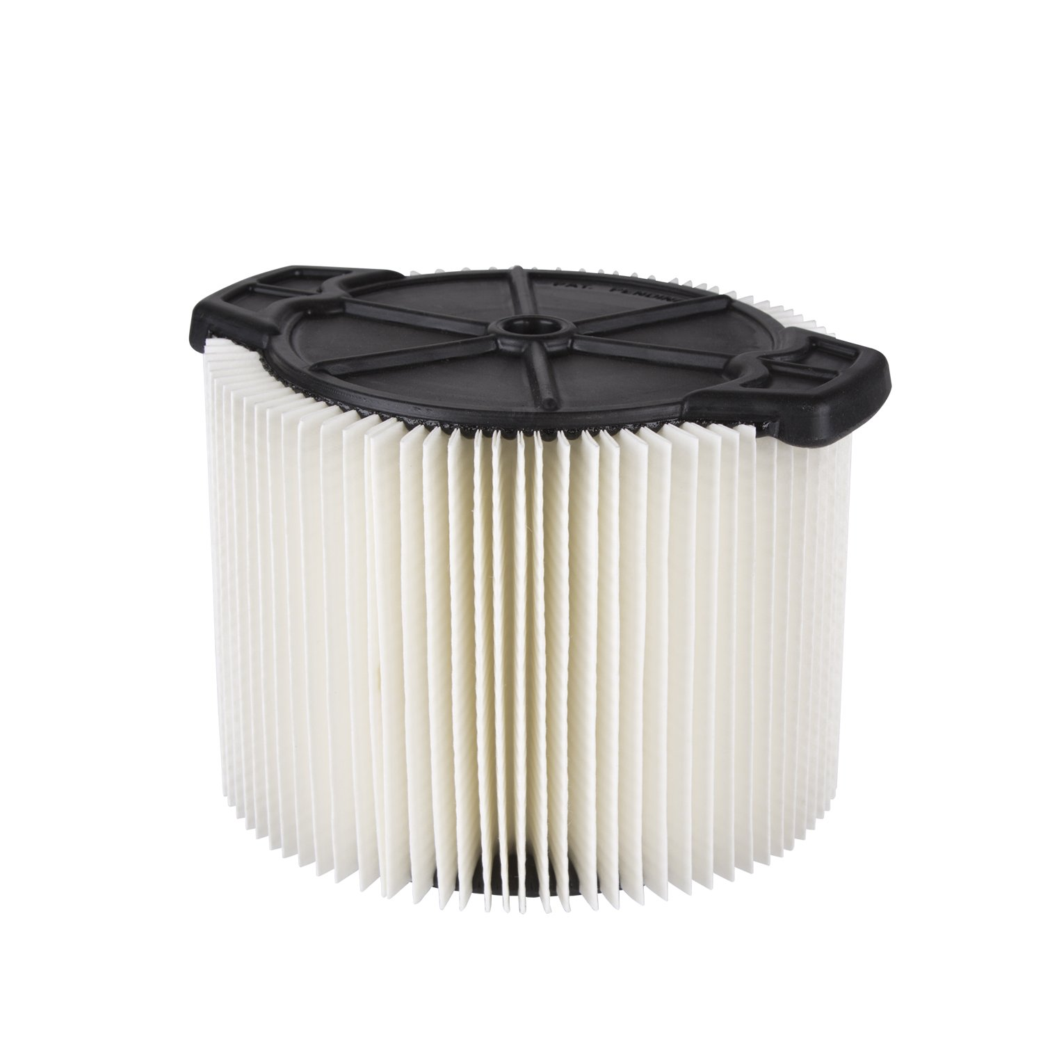 WORKSHOP Wet Dry Vac Filter WS11045F Standard Wet Dry Vacuum Filter (Single Shop Vacuum Cleaner Filter Cartridge) For WORKSHOP 3-Gallon to 4-1/2-Gallon Shop Vacuum Cleaners