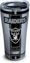 Tervis Las Vegas Raiders Stainless Steel Insulated Tumbler with Clear and Black Hammer Lid, 20 oz, Silver