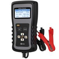 KZYEE KS20 Car Battery Load Tester 12V 24V 100-1700 CCA Automotive Digital Battery Analyzer Vehicle Cranking and Charging System Diagnostic Scan Tool for Motorcycle SUVs Heavy Duty Trucks