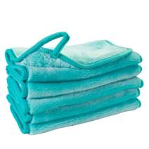 Nugilla Makeup Remover Cloth 5 Pack - Reusable Microfiber Cleansing Towel,Suitable for All Skin Types,Move Makeup Instantly Pure Colors