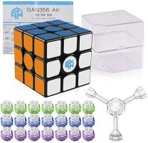 LotFancy Gan 356 Air Master 3x3 Speed Cube, Gans 356 Air 3x3x3 Speed Cube Magic Cube Puzzle Toy for Adults Challenge with IPG V5 (Master Version)