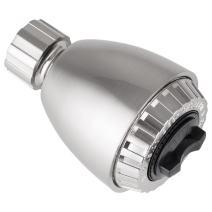 Pacific Bay Bremerton High-Pressure Shower Head (Brushed Satin Nickel)
