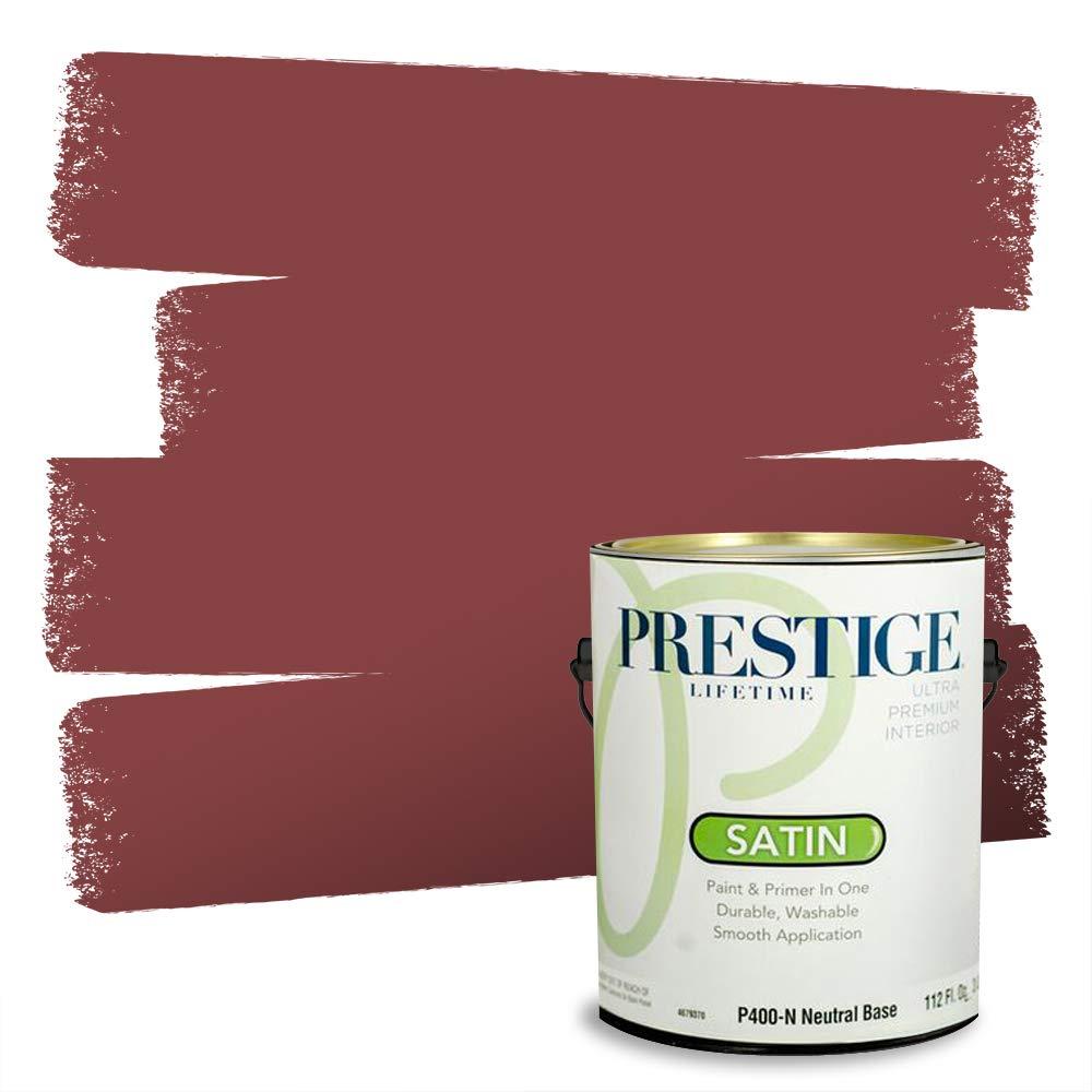 Prestige Interior Paint and Primer in One, 1-Gallon, Satin, Salsa