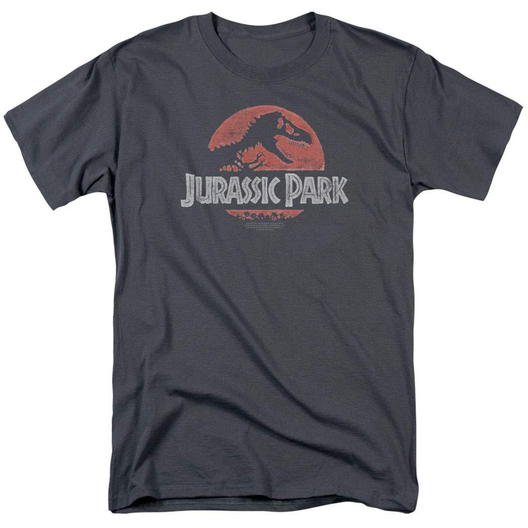 Jurassic Park Faded Logo T Rex T Shirt & Stickers