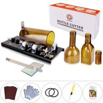 Genround Glass Bottle Cutter, 2020 [G2 Upgrade Version] Bottle Cutter & Glass Cutter Bundle Machine DIY Bottle Candle Wind Chimes Arts and Crafts Making Tools for Party Decoration