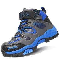 Kids Boots Boys Snow Boots Girls Hiking Shoes Winter Camp Shoes Hiker Climbing Sneakers for Girls Outdoor Walking Winter Boots