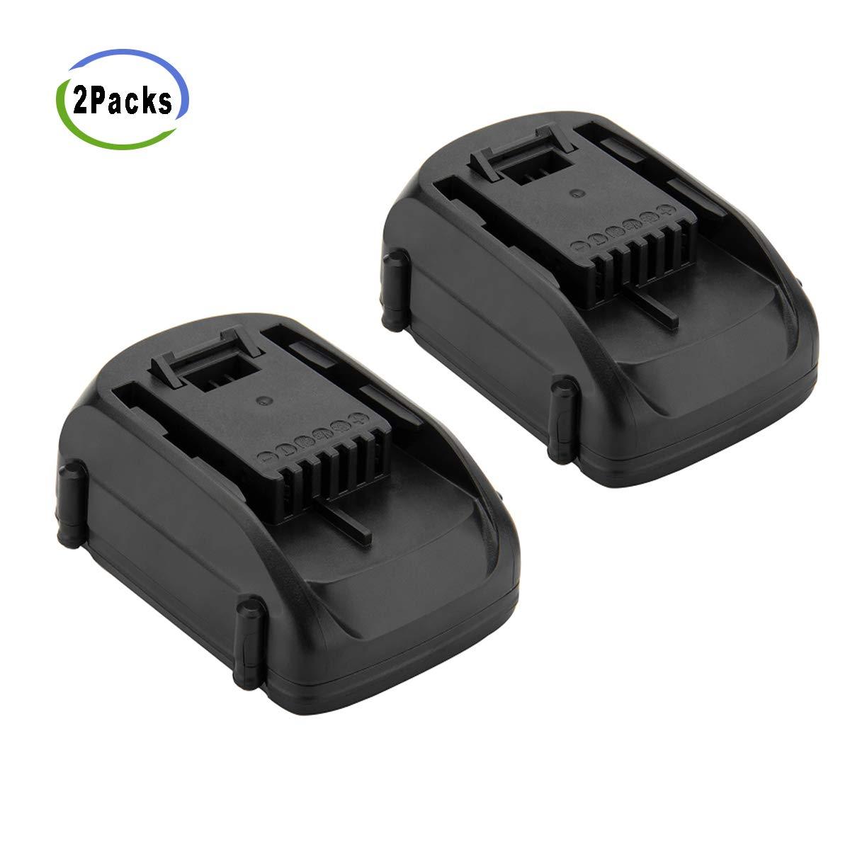2Packs Creabest 18V-20V 2500mAh Li-ion Repalcement Battery for Worx Replacement Battery WA3512 WA3512.1 WA3512 WA3511 WX163, Also Compatible with 20V Worx WA3520 WA3525 Li-ion Battery Pack