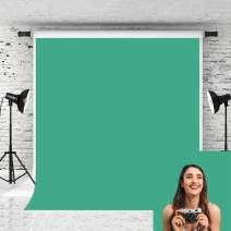 Kate 10x10ft Lake Green Photography Backdrop Solid Color Cotton Collapsible Background for Photographer Studio Props