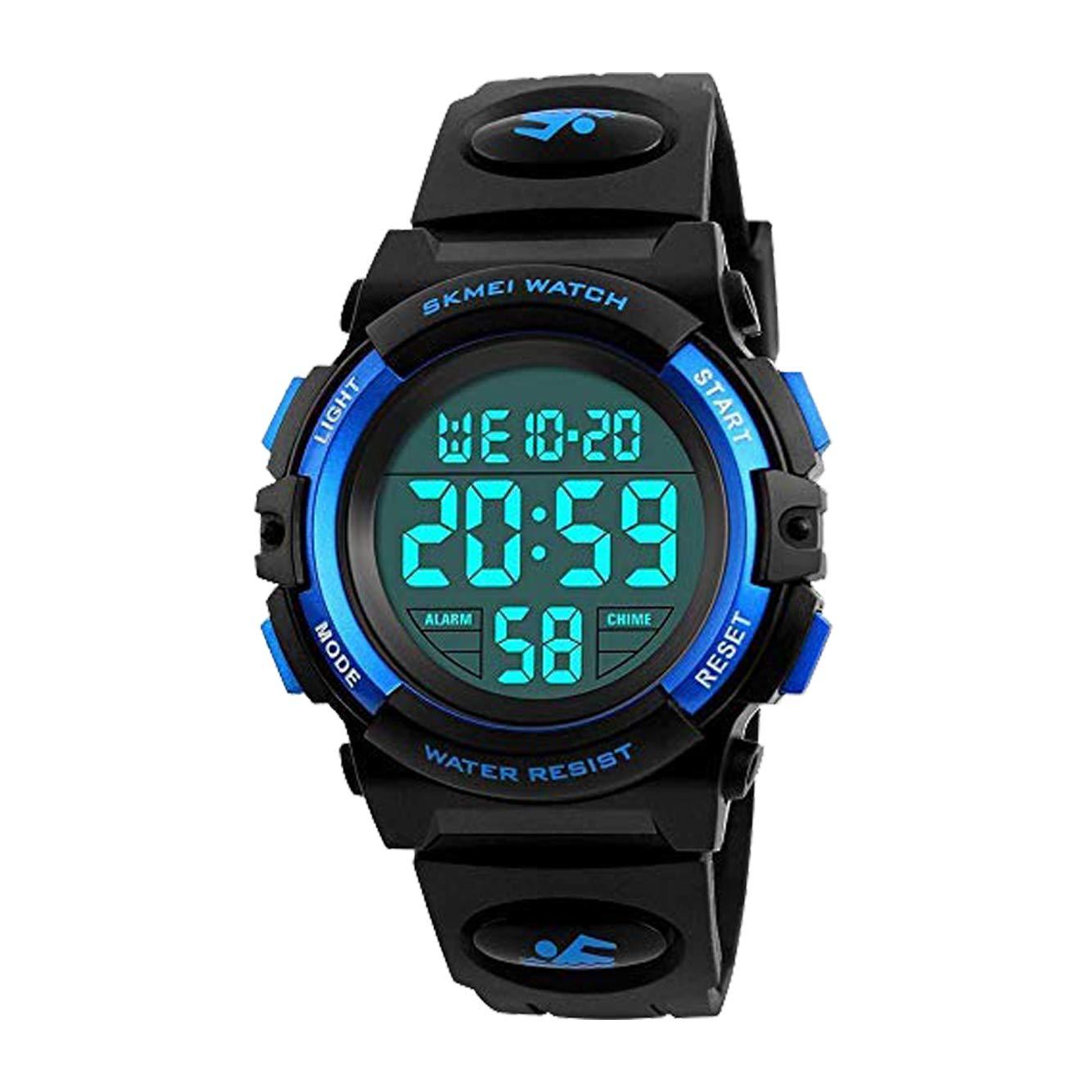 Touber Kids Digital Sport Watch, 50M Waterproof LED Wrist Watches with Alarm Sport Watch - Best Gifts
