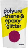 Hemway Metallic Glitter Floor Crystals for Epoxy Resin Flooring (500g) Domestic, Commercial, Industrial - Garage, Basement - Can be Used with Internal & External (Dark Rose)