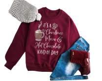 Merry Christmas T Shirt Women Baseball Raglan 3/4 Sleeve Top Splicing Top Tees Shirt