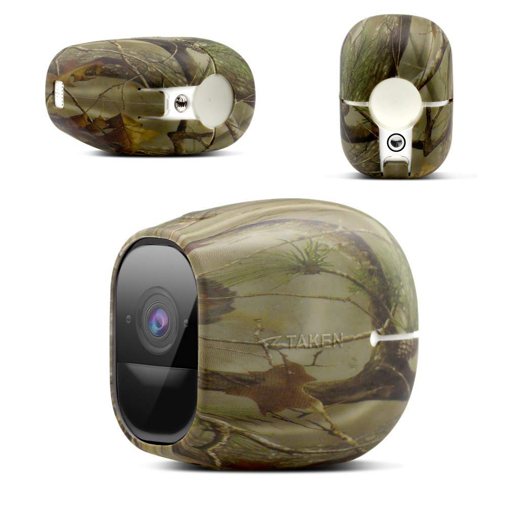 Taken Arlo pro Skins, Arlo pro 2 Silicone Skins, Silicone Skins Case Cover for Arlo pro & Arlo pro 2 Smart Security Wire-Free Cameras, 1 Pack, Camouflage