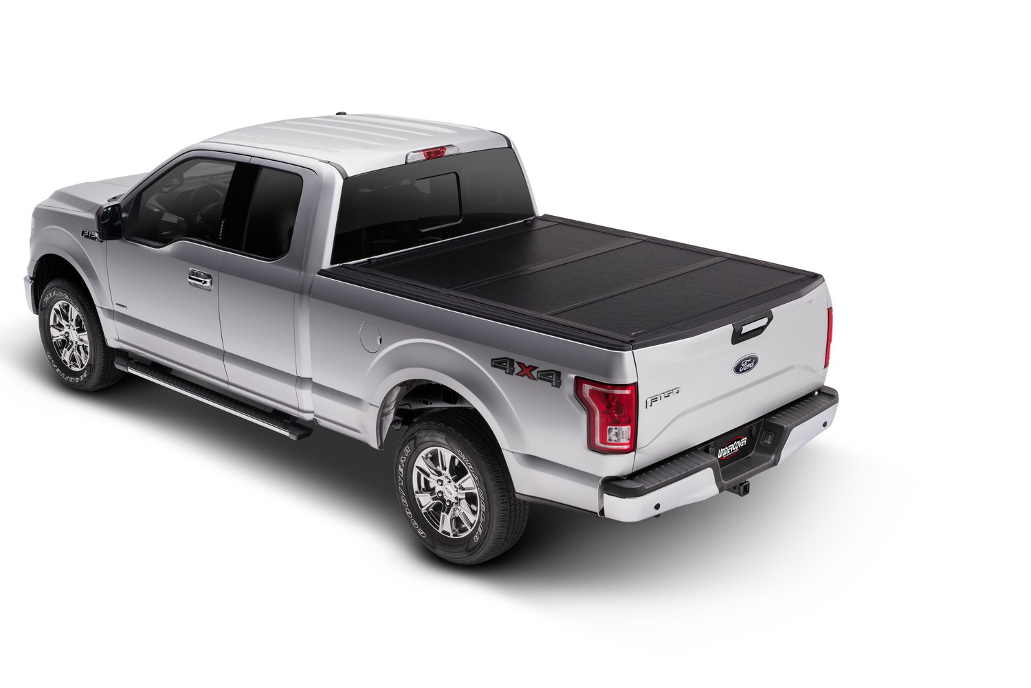 "Undercover Flex Hard Folding Truck Bed Tonneau Cover | FX31000 | Fits 99-11 Dodge Dakota Quad  5'5"" Bed"