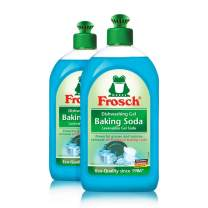 Frosch Natural Baking Soda Liquid Hand Dish Washing Soap, 500 ml (Pack of 2) …