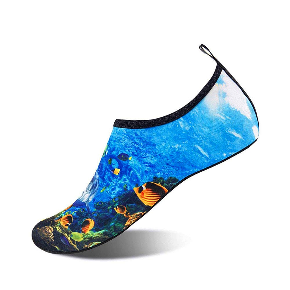 Moffo Mens Womens Barefoot Water Shoes Quick Dry Yoga Socks Swim Diving Yoga Surf Aqua Sports Pool Beach Walking