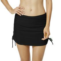 upandfast Women's Swim Skirts Breathable Skirted Bikini Bottom Swimdress