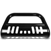"DNA MOTORING BURB-014-BK Black BURB014BK 3"" Front Bumper Push Bull Bar"