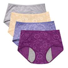 Women's Period Panties Menstrual Underwear Protective Menstrual Jacquard Easy Clean