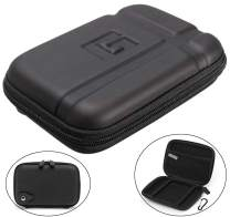 """5"""" Inch Hard Carrying Case Water Proof Travel Case Bag Pouch for 5"""" 5.1"""" 5.2"""" Tomtom Garmin Nuvi 2597LMT 55LM 2557LMT 2555LMT 2595LMT 55LMT 52LM Magellan RoadMate GPS Units Other Small Devices"""