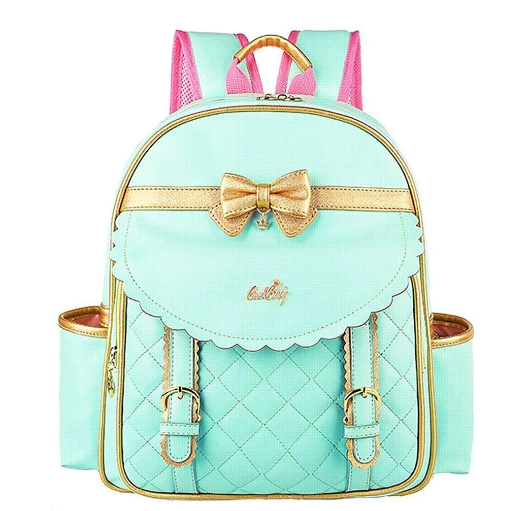 EURO SKY Children School Backpack Bags for Girls Students PU Leather NO18 L