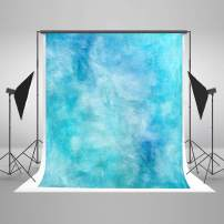 Kate 10×10ft Watercolor Abstract Photography Backdrop Blue Portrait Photo Background Cotton Cloth Photo Studio Booth Free Wrinkles Props