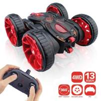 Remote Control Stunt Car, RC Car Toy All Terrain Off Road 4WD Double Sided Running, 360° Rotation & Flips Remote Control Car Toy Gift for Boys & Girls Aged 3 4 5 6 7 8 9 10 11 12