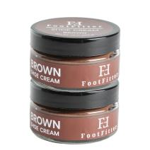 FootFitter Premium Shoe Cream Polish, 2 Pack, Shoe and Boot Shine Cream - Made in the USA!