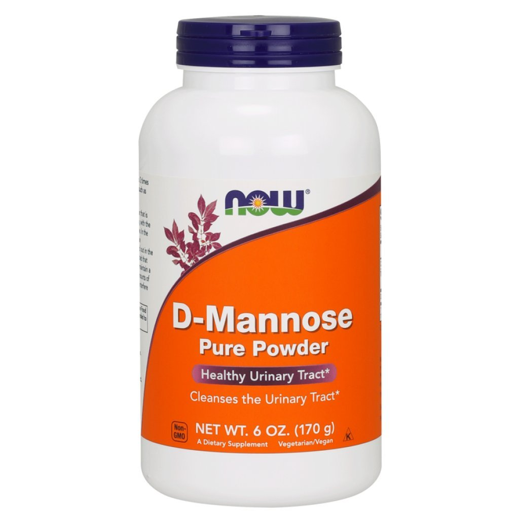 Now Foods D-Mannose Powder, 6 Ounces (Pack of 2)