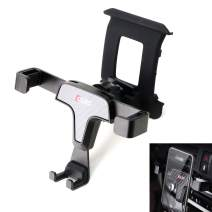 iJDMTOY Smartphone Gravity Holder w/ Exact Fit Clip-On Dash Mount Compatible With BMW 2018-up G01 X3, 2019-up G02 X4 (Won't Occupy Air Vent Opening)