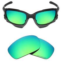 Mryok+ Polarized Replacement Lenses for Oakley Jawbone/Racing Jacket - Emerald Green