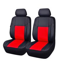 NEW ARRIVAL- CAR PASS Skyline Universal Fit PU Leather Car Seat covers, fit for suvs,sedans,trucks,cars,vehicles, Airbag Compatible (6PCS, SPORT BLACK WITH RED)