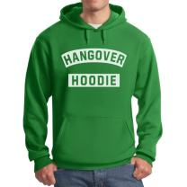 Tstars St. Patrick's Day Hangover Hoodie - Funny After Party Men's Hoodie