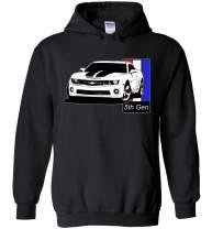 Aggressive Thread 5TH Gen Camaro SS Hoodie Sweatshirt